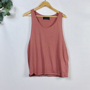 Zara Rose Pink Muscle Tank Top